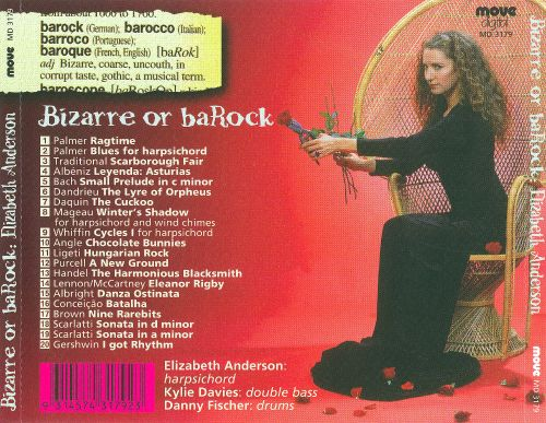 Genre barock  Bizarre or BaRock - Elizabeth Anderson | Songs, Reviews, Credits ...
