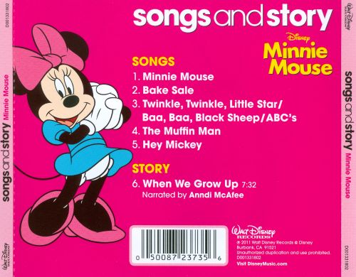 Disney Songs & Story: Minnie Mouse