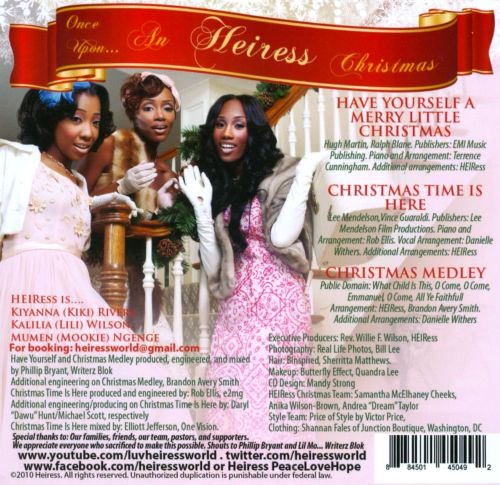 Once Upon...An Heiress Christmas