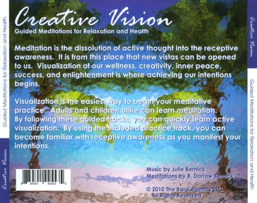 Creative Vision: Guided Meditations For Relaxation And Health