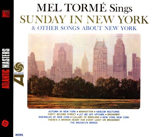 Sings Sunday in New York and Other Songs About New York