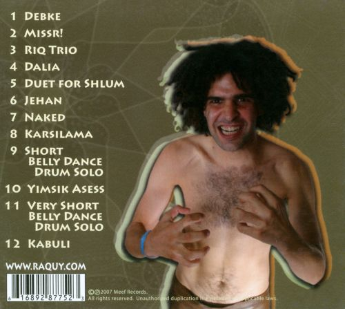 Naked: 12 Middle-Eastern Drum Solos