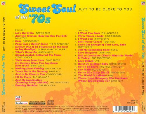 Sweet Soul Of The 70s Track List