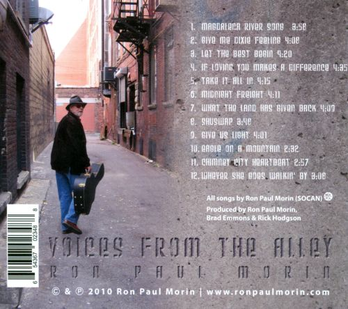Voices From The Alley