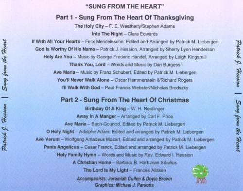 Sung from the Heart