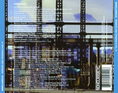 Nonclassical Remixes and Originals, Vol. 1