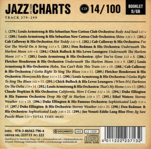 Jazz in the Charts, Vol. 14: Honeysuckle Rose 1932-1933