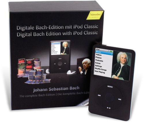Complete Works of J.S. Bach for iPod