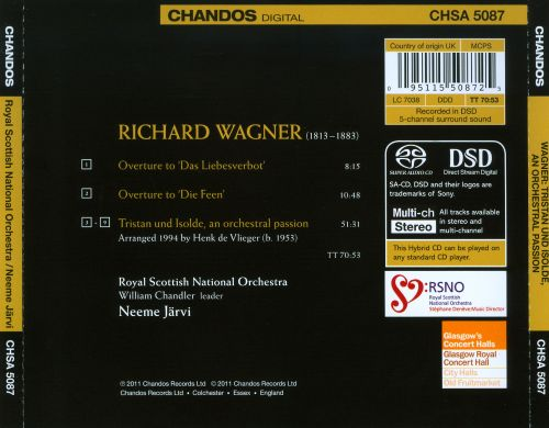 Wagner: Tristan und Isolde, an Orchestral Passion