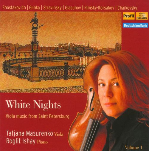 White Nights: Viola Music from St. Petersburg, Vol. 1