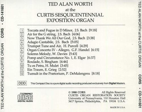 Music from the Curtis Organ