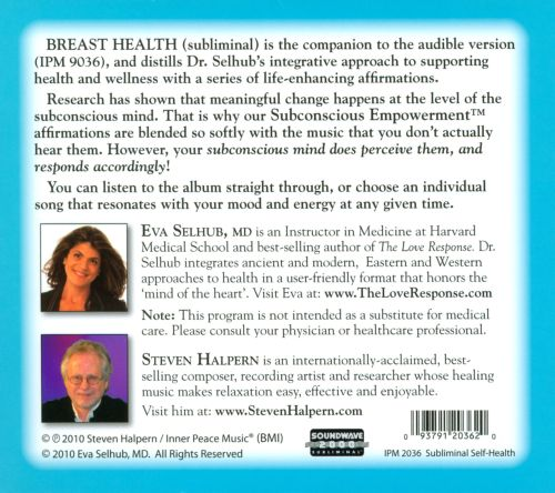 Breast Health: Subliminal Affirmations With Music