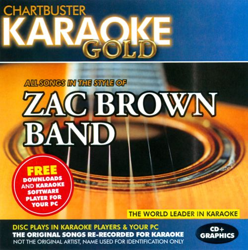 Karaoke Gold: In the Style of Zac Brown Band