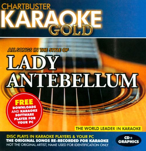 Karaoke Gold In the Style of Lady Antebellum
