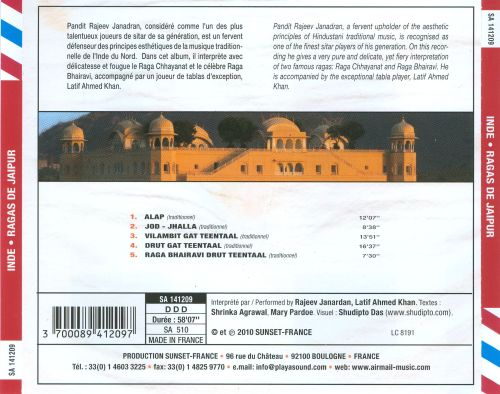 Air Mail Music: Ragas de Jaipur