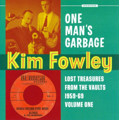One Man's Garbage: Lost Treasures From The Vaults 1959-1969 Volume One