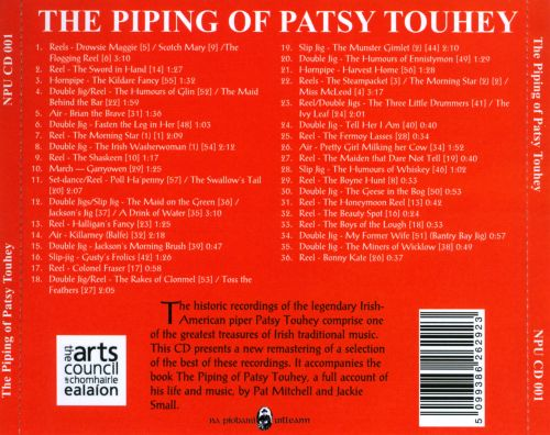 The  Piping Of Patsy Touhey