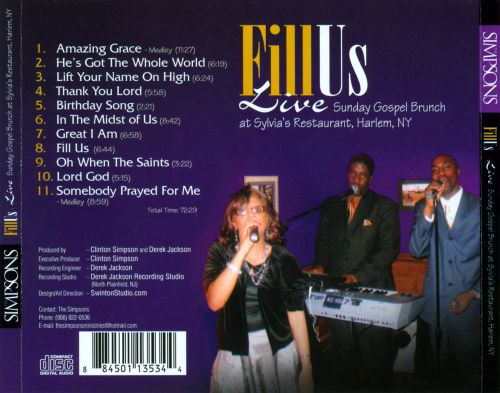 Fill Us: Live Sunday Gospel Brunch