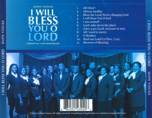 I Will Bless You O Lord