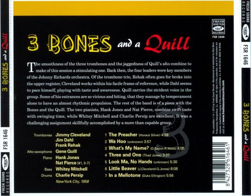 3 Bones and a Quill