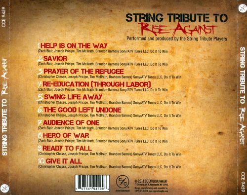 String Tribute To Rise Against