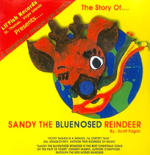 The Story of Sandy the Bluenosed Reindeer