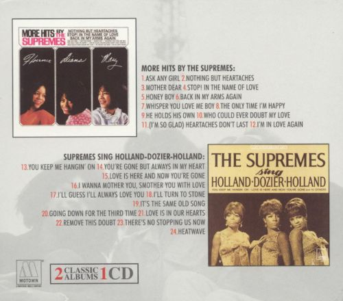 More Hits by the Supremes/The Supremes Sing Holland-Dozier-Holland