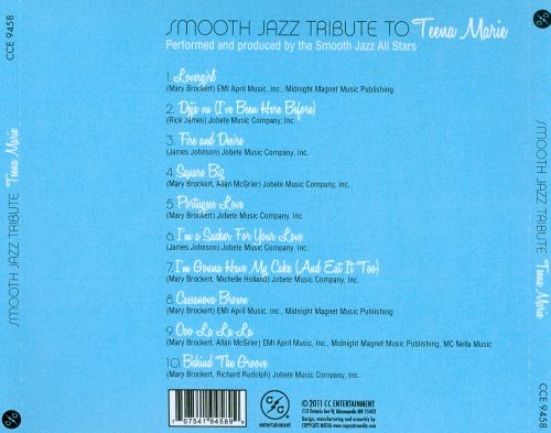 Smooth Jazz Tribute To Teena Marie