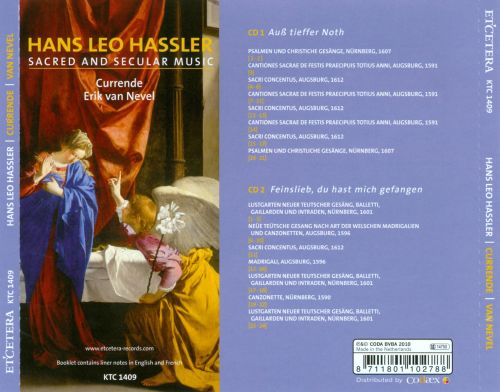 Hans Leo Hassler: Sacred and Secular Music