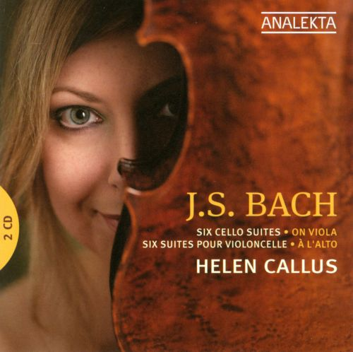 Bach: Six Cello Suites, on Viola