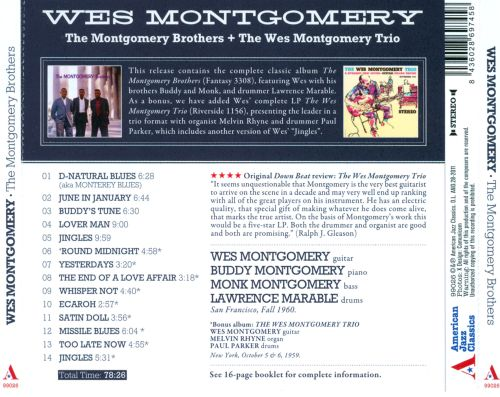 The Montgomery Brothers