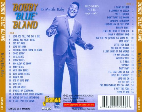 It's My Life, Baby: The Singles As & Bs (1951-1960)