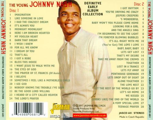 The Johnny Nash Definitive Early Album Collection