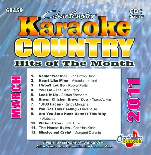 Karaoke: Country Hits of the Month - March 2011