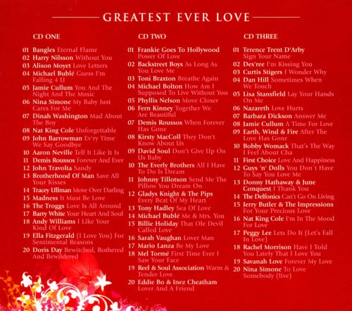 Greatest Ever! Love: The Definitive Collection - Various ...