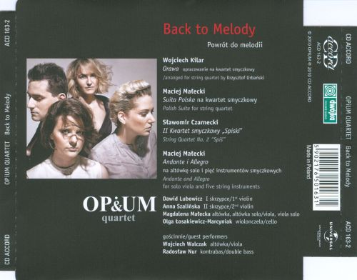 Back to Melody