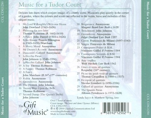 Music from a Tudor Concert