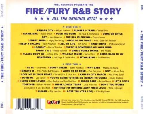 The  Fire/Fury R&B Story