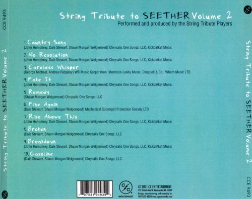 String Tribute to Seether, Vol. 2