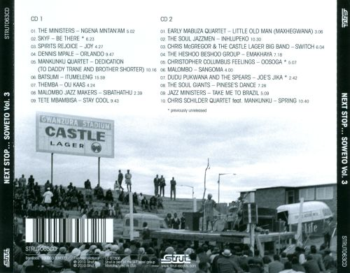 Next Stop Soweto, Vol. 3: Giants, Ministers and Makers - Jazz in South Aftrica 1963-1984