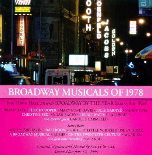 Broadway Musicals of 1978