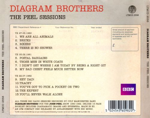 The peel sessions diagram brothers songs reviews credits the peel sessions the peel sessions ccuart Images