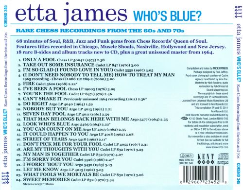 Who's Blue? Rare Chess Recordings of the 60s and 70s