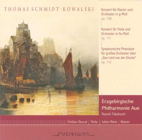Thomas Schmidt-Kowalski: Concerto for Piano and Orchestra, Op. 108; Concerto for Viola and Orchestra