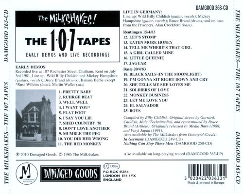 The 107 Tapes