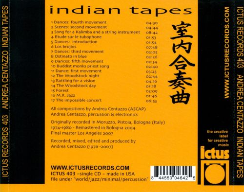 Indian Tapes