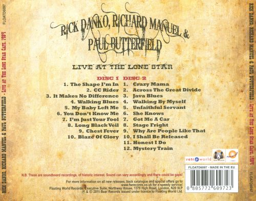Live at the Lone Star 1984