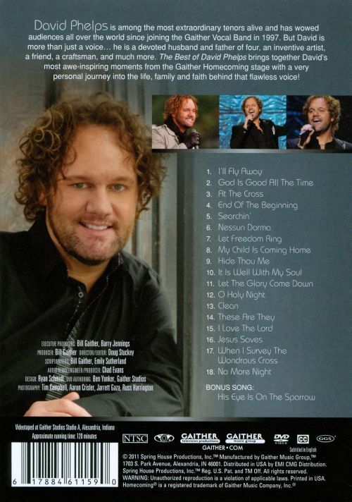 The Best of David Phelps [Gaither]