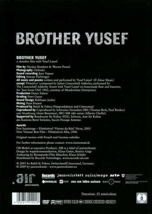 Brother Yusef: Chamber Film with Yusef Lateef