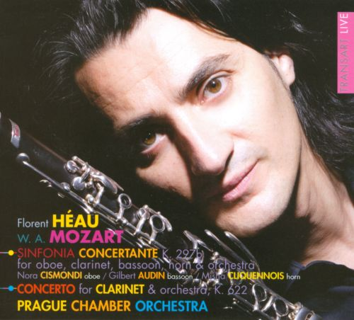 Mozart: Sinfonia Concertante K. 297b; Concerto for Clarinet & Orchestra, K. 622